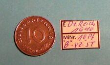 Stempelglanz Münzen des Dritten Reichs