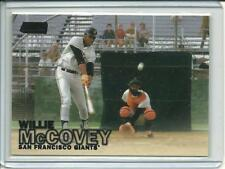 2016 Topps Stadium Club Willie McCovey#18 Black Parallel Giants