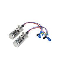 55W H4 Hi/Low Projector Lens Headlights Kit Bulbs Xenon Bi-xenon HID 4300K LHD