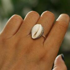 Women Minimalist Zinc Alloy Metal Ring Beach Jewelry New Fashion