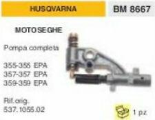 BOMBA DE ACEITE COMPLETO MOTOSIERRA HUSQVARNA 355 355EPA 357 357EPA 359 359EPA