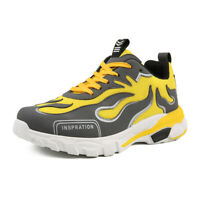 Fashion Men's Athletic Sneakers Breathable Running Shoes Sports Casual Shoes New