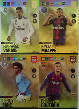 PANINI ADRENALYN XL FIFA 365 2019 UPDATE TOP MASTER FULL SET 4 CARDS