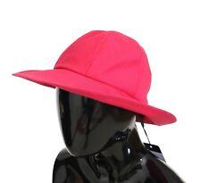 56 XS NWT $540 DOLCE /& GABBANA Black Floral Cotton Silk Bucket Hat Cappello s