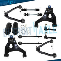 12pc Front Upper & Lower Control Arms Suspension Kit 99-06 GMC Sierra 1500 2WD