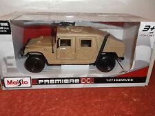HUMVEE MILITARY TRANSPORT MAISTO PREMIERE DIE CAST CAR 1:27 NEW IN BOX