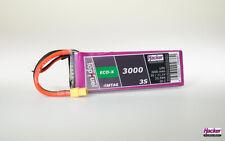 Hacker Top Fuel LiPo 20C ECO-X 3000mAh 3S MTAG    93000331