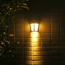 Waterproof 6LED Solar Light Sensor Wall Light Outdoor Garden Yard Lamp Landscape