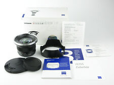 Für Canon EF Carl Zeiss Distagon 3,5/18 ZE T* Objektiv lens Boxed neuwertig