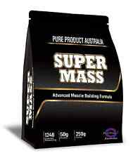 6kg MASS GAINER PROTEIN POWDER CHOCOLATE WEIGHT SERIOUS BULK