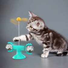 New listing New Cat Toy Interactive Self Rotating Teaser Feather Wand Stick Toy For Kittens