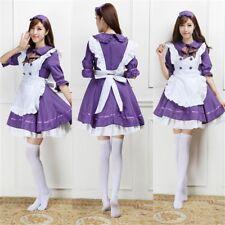 Anime Japón vestido vestido delantal de sirvienta conjunto Sweet Lolita Juegos con disfraces Disfraz 6 Colores