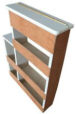 Westfalia SO42 Spice Rack with White & Grey Lines Lid C9607