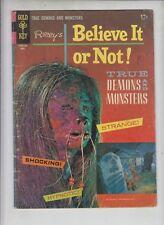 """RIPLEY'S BELIEVE IT OR NOT #4 Gold Key Horror 1967 """"The Killer Demons"""""""