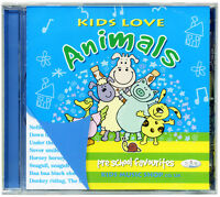 Kids Love Animals.  Favourite Animal Songs CD *NEW & WRAPPED* from PUBLISHER