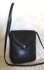Small STEVENS Blue Leather Cross Body/Shoulder Bag / Handbag, Made In Australia