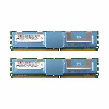 16GB (2x 8GB) DDR2 PC2-6400F 800MHz ECC Fully Buffered SERVER MEMORY RAM HP DELL