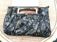ladies-black-snakeskin-look-handbag-with-gold-floral-pattern