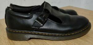 Dr Martens - Size UK 3 - Maccy II Mary Jane Shoe Black Leather