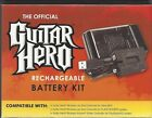 Guitar Hero Rechargeable Battery Pack Kit for Wireless Guitars