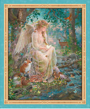 "QUILTING TREASURES Panel ~ ARTWORKS DIGITAL - NATURE'S ANGEL ~  36"" x 44"""