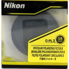 Nikon Circle Polarization Filter II 58mm 58CPL2 Official Model New