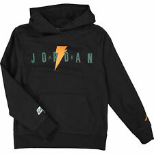 AIR JORDAN Boy's Black Graphic Print Hoodie Age 11 YRS