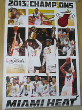 Miami Heat Champions Official Poster -600mm x 900mm -brand new - in tube