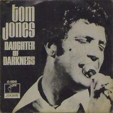 "TOM JONES 'DAUGHTER OF DARKNESS' US IMPORT PICTURE SLEEVE 7"" SINGLE"