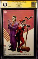 HARLEY LOVES JOKER #1 CGC SS 9.8 CHO VARIANT BATMAN QUINN GOTHAM CATWOMAN IVY DC