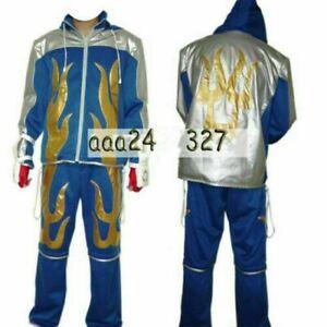 Tekken 6 Jin Kazama Game Cosplay Costume  &