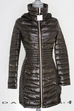 Calvin Klein Duck Down Quilted Hooded Packable Puffer Jacket Coat XS