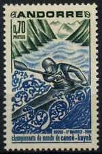 Andorra French 1969 SG#F216 Kayak-Canoeing MNH #D71786