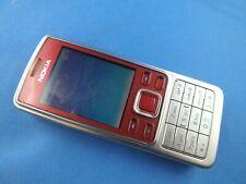Original Nokia 6300 2MP Bluetooth Ohne Simlock Handy Rot Silber D,E,F,I,Es,TR,Pt