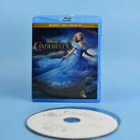 Cinderella - Walt Disney Blu-Ray + DVD - 2015 - Bilingual - GUARANTEED