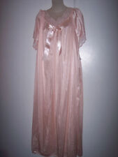 2-X 9784X  PEACH  100% NYLON LONG NIGHT GOWN NW TAG  #G 580
