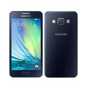 SAMSUNG GALAXY A3 SM-A300FU 16GB MIDNIGHT BLACK UNLOCKED SMARTPHONE UK STOCK