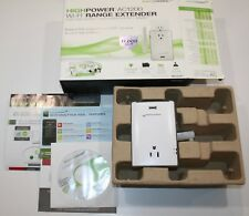 Amped Wireless High Power Plug-In AC1200 WiFi Range Extender w/ Pass Thru Outlet