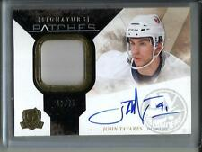 John Tavares 10/11 The Cup Autograph Game Used Jersey Patch #42/75