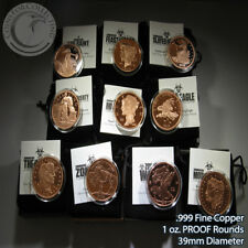 Zombucks Zombie 1 Copper Ounce 5 Coin Halloween Full Dead Set