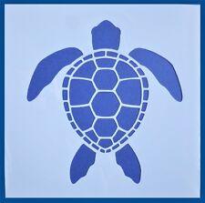 Flexible Stencil *SEA TURTLE* Small Painting Card Making Beach Craft 10cm x 10cm