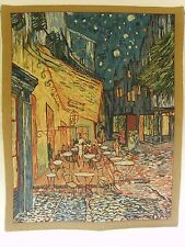 VAN GOGH TERRACE TAPESTRY WALL HANGING  27 X 33.5 in 68 X 85 cm