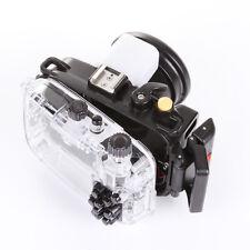 40M 130ft Waterproof Underwater Housing Dving Case fr Sony DSC RX100 IV Mark 4