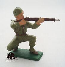 Figurine Vintage Militaire Starlux Soldat US au feu