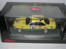 Schuco 1:43 02772 Opel Commodore GS/E #28 Tour de Corse 1974 NEW