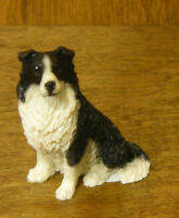 Castagna Mini Dog Figurines #362N BOARDER COLLIE,  Made in Italy, NEW/Box