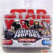 Star Wars Galactic Heroes Stormtrooper & Rebel Trooper 2 action figure set