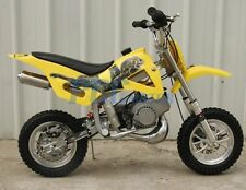 KIDS 49cc 2-Stroke GAS Motor Mini Pocket Dirt Bike Free S/H YELLOW I DB49A