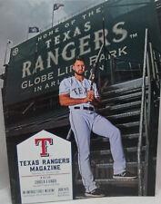 2017 Texas Rangers Program Featuring Joey Gallo Sept 25 - Oct 1