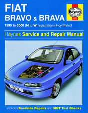 3572 Haynes Fiat Bravo e Brava Benzina (1995 - 2000) N PER W Workshop Manuale